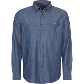 Elkline Cityguide LS Shirt Men, darkblue
